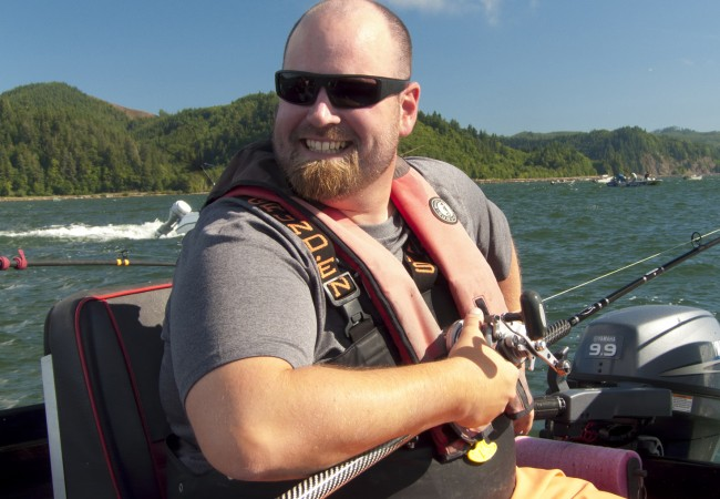 Featured Guide: Dustin Stansbury, Columbia River