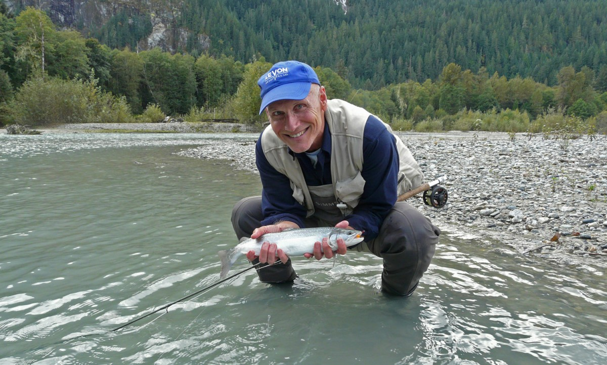 Terry with Bull Trout