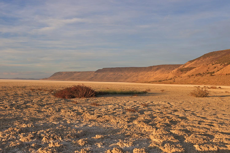 Abert Lake Oregon dry