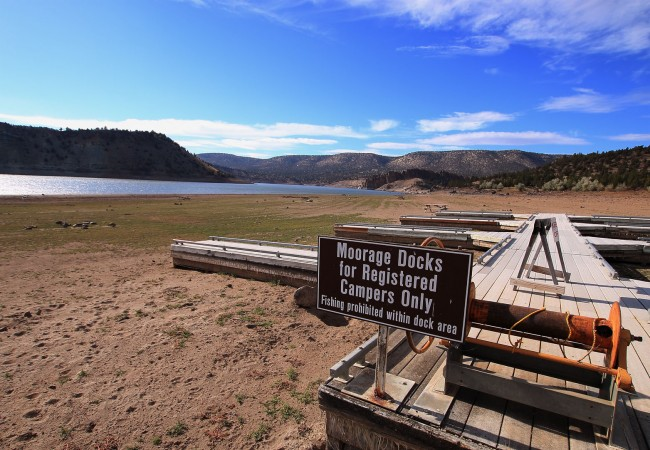 Drought Leaves Prineville Reservoir at Less than 30% Capacity
