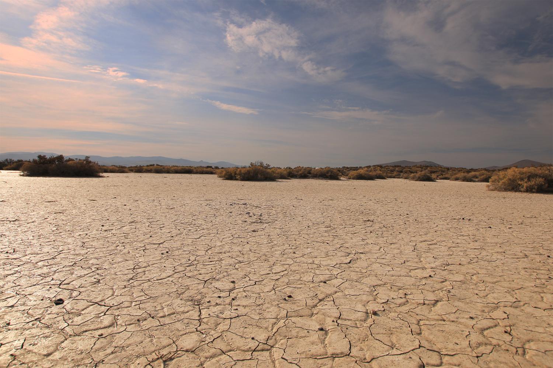 Warner Valley Oregon Wetlands with no water