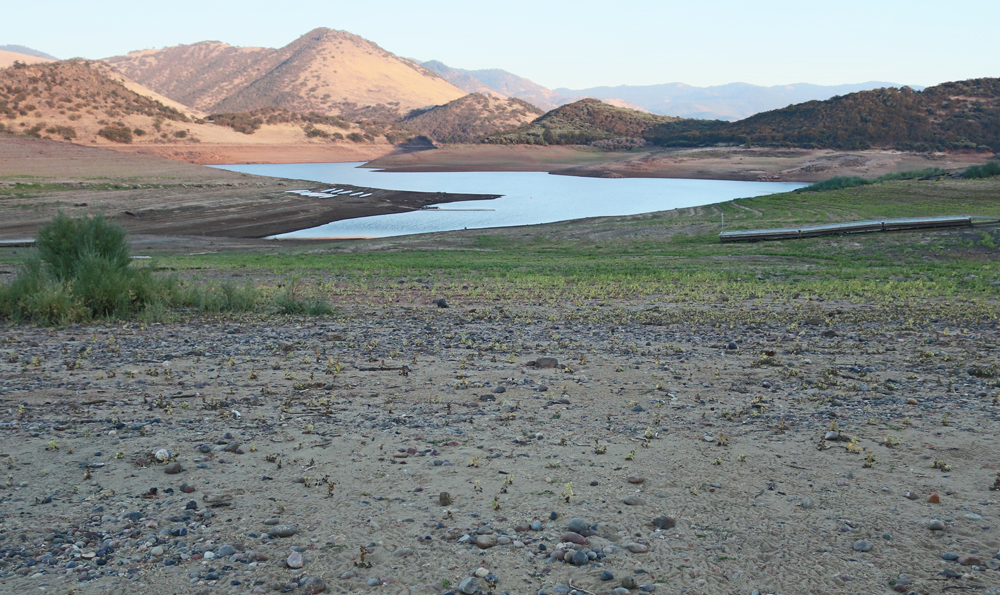 Emigrant Lake Ashland Drought 2