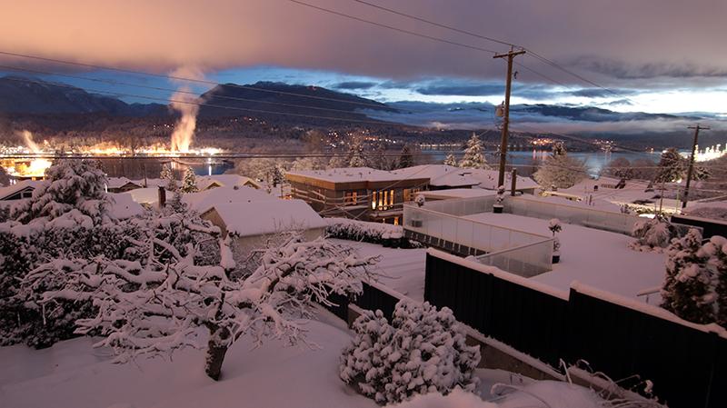 vancouver snow, burnaby snow, la nina 2018