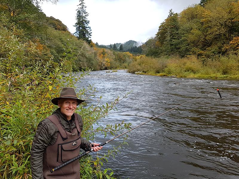 Siuslaw river fishing