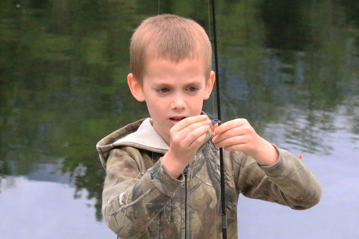 Fishing at Rice Lake, North Vancouver BC