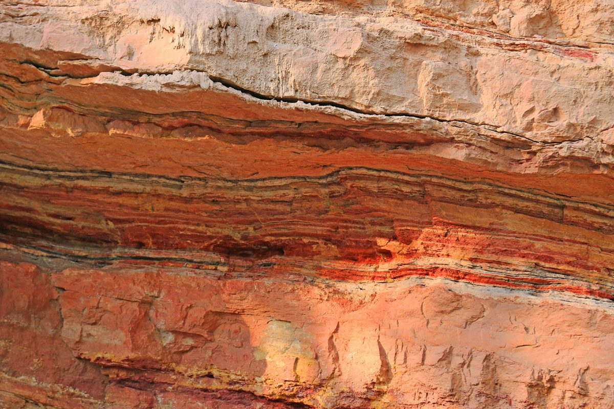 Vermilion bluffs layers of ochre